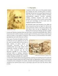 leonardo da vinci biography for elementary students esoteric profile leonardo da vinci