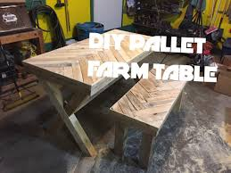 diy herring bone chevron patterned farm table build youtube