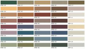 kwal paint color chart paint cheat sheet neutral modern color