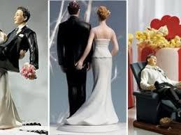 figurine mariage mixte une figurine de gateau de mariage tendance par deco mariage tendance
