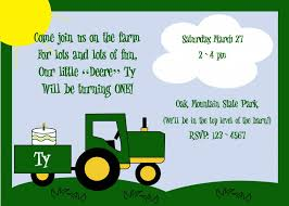 john deere birthday invitations ideas u2013 bagvania free printable