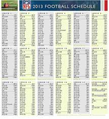 nfl schedule u s news in photos imageserenity