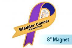 blue support ribbon bladder cancer awareness products marigold blue purple choose