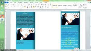 office word brochure template template brochure template on microsoft word