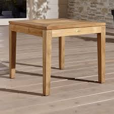 outdoor furniture side table regatta natural stacking side table reviews crate and barrel