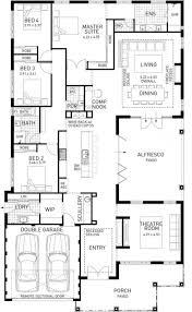 house blueprints design display single story log home floor plans