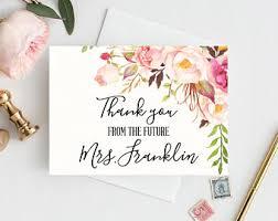 bridal shower thank you cards bridal shower thank you cards folded thank you cards