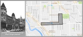 Chicago Shopping Map by Armitage Halsted Landmark District Homes For Sale
