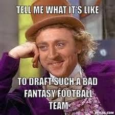 Nfl Fantasy Memes - fantasy football draft memes bing images football memes humor