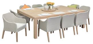 10 Seater Dining Table And Chairs Timber Outdoor Dining Sets Richmond 10 Seater Segals Outdoor