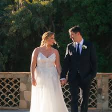 wedding dress for less get schumer s lhuillier severine wedding dress for