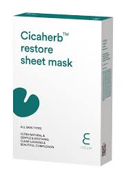 Isaac Mizrahi Sheets Enature E Nature Cicaherb Restore Sheet Mask Pack Of 10
