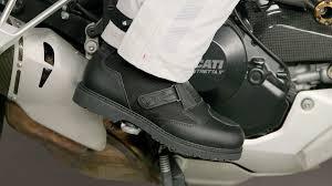 long road moto boot sidi all road gore tex boots review at revzilla com youtube
