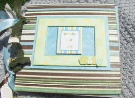 baby boy scrapbook album handcrafted simply by us baby boy album