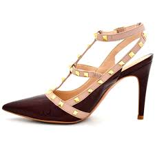 Color Image Online by Buy Online Heels Stilettos Stylish Maroon Color Stilettos For