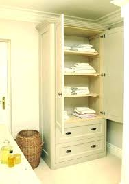 free standing linen cabinets for bathroom free standing linen closet free standing linen cabinets for bathroom