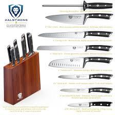 honing kitchen knives gladiator series 8 piece block set u2013 dalstrong