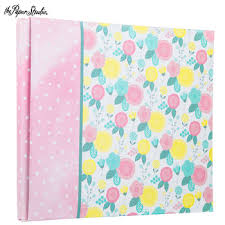baby girl scrapbook album baby girl ready made post bound scrapbook album 8 x 8 hobby