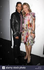 Elisabeth Rohm Elisabeth Rohm And Husband Ron Wooster Fashion Designer Gilbert