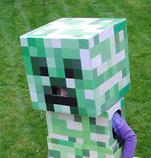 Minecraft Costume Halloween 25 Creeper Costume Ideas Minecraft Costumes