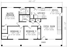2 bedroom ranch floor plans markers bedroom 3 br ranch house plan o plans hedia