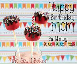 birthday cake pops happy birthday cake cake pops pint sized baker