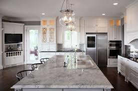furniture modern kitchen design with exciting super white quartzite