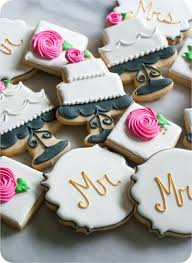 Decorated Best 25 Decorated Wedding Cookies Ideas On Pinterest Wedding