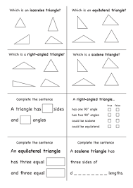 angles on a line and in a triangle differentiated worksheet by