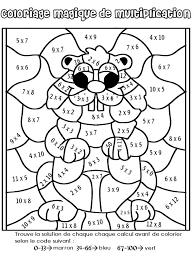 20 dessins de coloriage Magique Ce1 Maths à imprimer