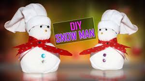 Diy Sock Snowman Diy Sock Snowman Easy To Make Snowman From Socks Craft Basket