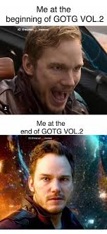 Guardians Of The Galaxy Memes - a majority of us after watching guardians of the galaxy 2 gotg