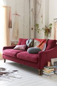 furniture cherry red leather sofa burgundy couch leather sofa