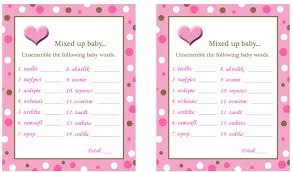 free printable baby shower word search image collections baby