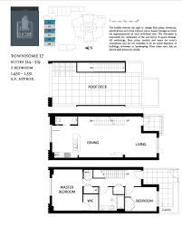 2 Bedroom Condo Floor Plan Electra Condos Downtown San Diego Condos
