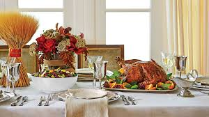fresh modern thanksgiving table setting southern living