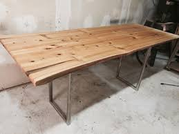 Cypress Dining Table by Salvage Your Next Tree Cutting For A Beautiful Dining Table