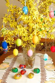 easter table decoration easter table decorations