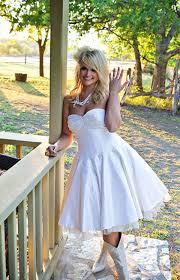wedding dresses to wear with cowboy boots country wedding dresses with boots wedding ideas