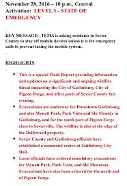 Chicago Wildfire Highlights by Video Fire In Gatlinburg Tenn Seen Burning Close To Park Vista