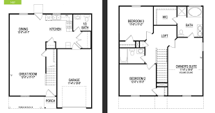 Garage Loft Floor Plans Mitchiner Hills Wade Jurney Homes