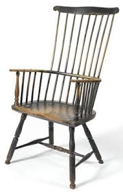 High Back Windsor Armchair Furniture Windsor Chair Arm Comb Back Gilpin Thomas Scroll