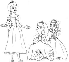 sofia coloring pages curse princess ivy sofia