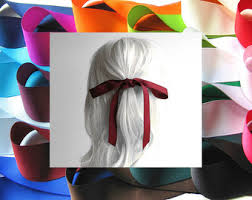 ribbon for hair hair ribbon etsy