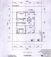 Floor Plan Of Bungalow House In Philippines Grace Park Subdivision Davao Hornijas Tobias Realty U0026 Co