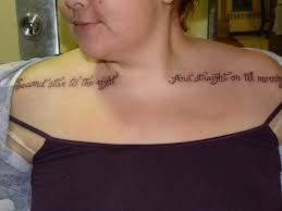 tattoos on chest for girls quote tattoos designs ideas and meaning tattoos for you