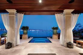 bayside infinity edge jacuzzi luxe interiors design