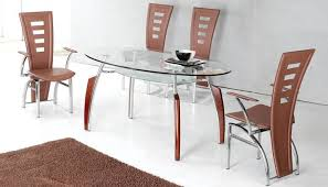 oval glass dining table glass dining tables oval shape andrew fuller intended for top table