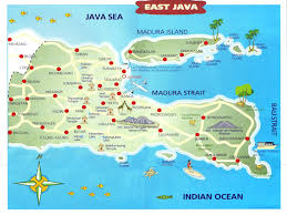 Java World Map by Banyuwangi