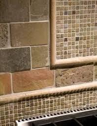 Travertine Tile Backsplash Noche Blend Tumbled Travertine With - Stone backsplash tiles